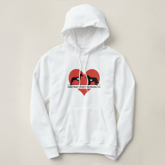 Giant Hearts Giant Dog Rescue Logo Hoodie