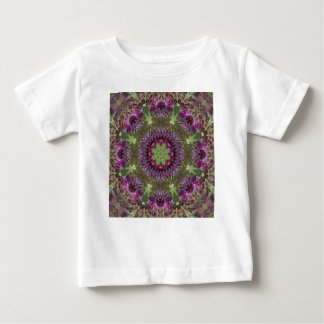 Giant Ironweed, Wildflower Kaleidoscope Baby T-Shirt