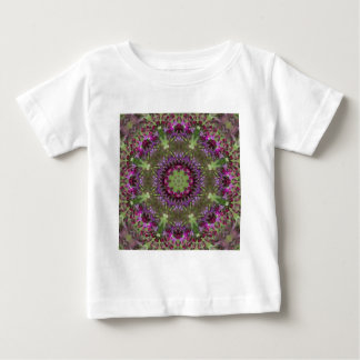 Giant Ironweed, Wildflower Kaleidoscope Baby T-Shirt