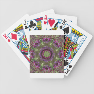 Giant Ironweed, Wildflower Kaleidoscope Bicycle Playing Cards