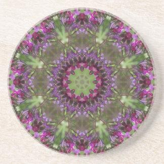 Giant Ironweed, Wildflower Kaleidoscope Coaster