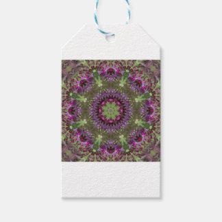 Giant Ironweed, Wildflower Kaleidoscope Gift Tags