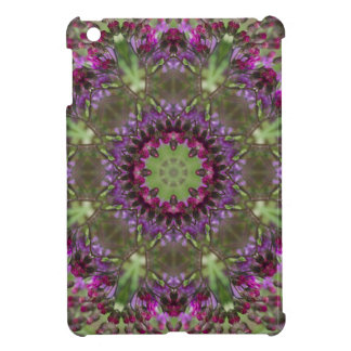 Giant Ironweed, Wildflower Kaleidoscope iPad Mini Case