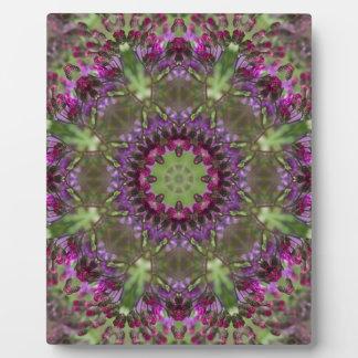 Giant Ironweed, Wildflower Kaleidoscope Plaque