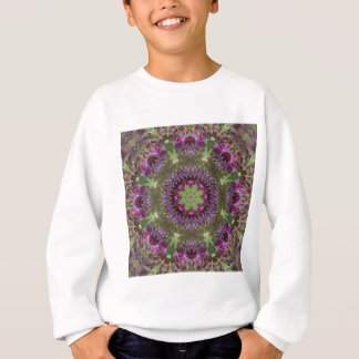 Giant Ironweed, Wildflower Kaleidoscope Sweatshirt