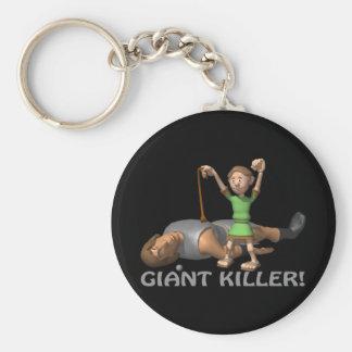 Giant Killer Keychain