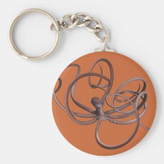 Giant Kraken Basic Round Button Keychain
