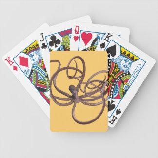 Giant Kraken Bicycle Playing Cards