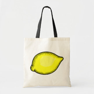 Giant Lemon Tote Bag