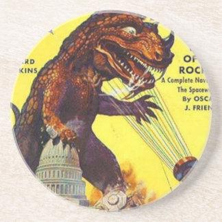 giant Lizard Monster Coaster