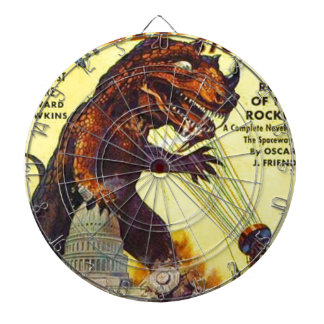 giant Lizard Monster Dart Board