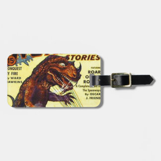 giant Lizard Monster Luggage Tag