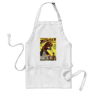 giant Lizard Monster Standard Apron
