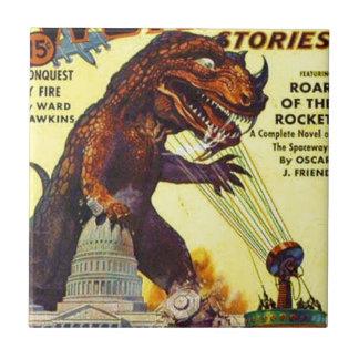 giant Lizard Monster Tile