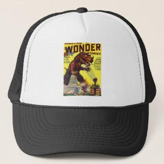 giant Lizard Monster Trucker Hat