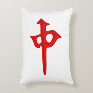 Giant Mahjong Tile Pillow - Red Dragon
