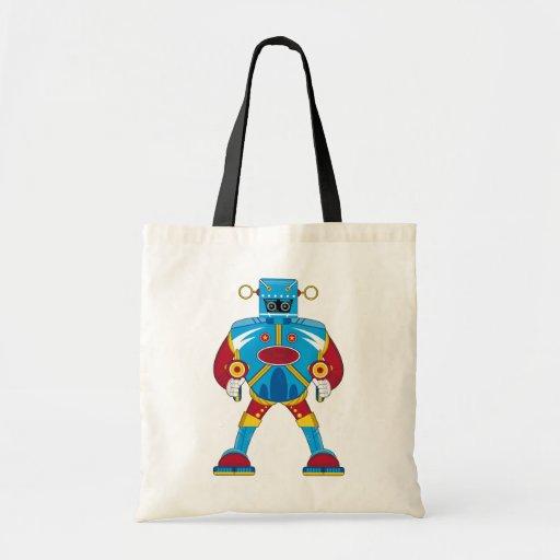 Giant Mecha Robot Tote Bag
