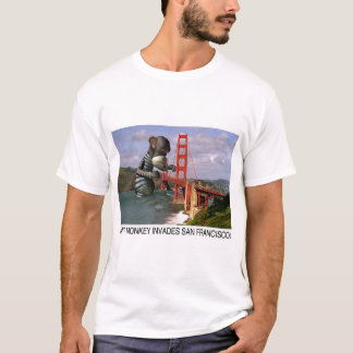 Giant Monkey Invades San Francisco (T-shirt) T-Shirt
