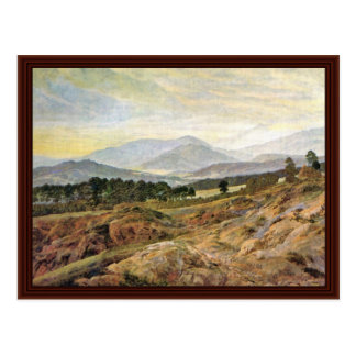 Giant Mountain By Friedrich Caspar David Postcard