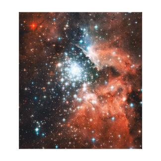 Giant Nebula Star Cluster Space Canvas Print