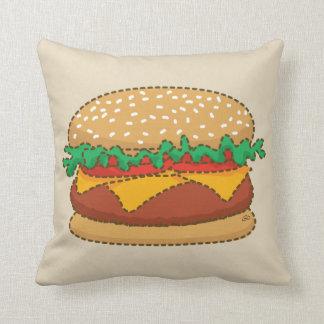 Giant Nothingburger Throw Pillow