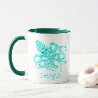 Giant Octopus Nautical Creature Graphic Mug