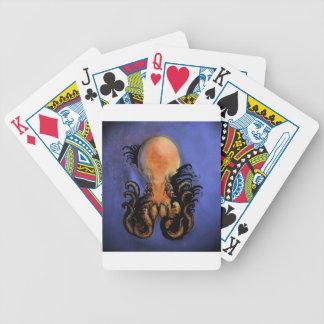 Giant Octopus or Kraken Poker Deck