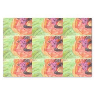 Giant Orange Poppy Tissue Paper