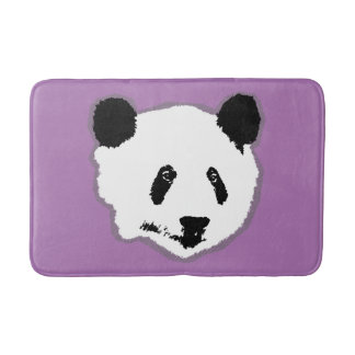 Giant Panda Bear Face Bathroom Mat