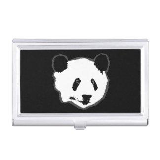 Giant Panda Bear Face Business Card Holder