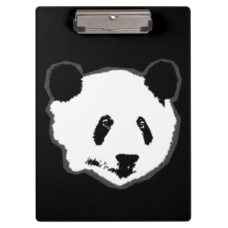 Giant Panda Bear Face Clipboard