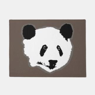 Giant Panda Bear Face Doormat
