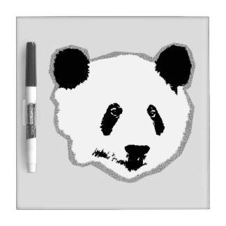 Giant Panda Bear Face Dry-Erase Whiteboard