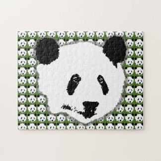 Giant Panda Bear Face Jigsaw Puzzle