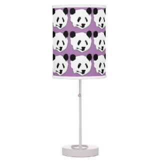 Giant Panda Bear Face Table Lamp