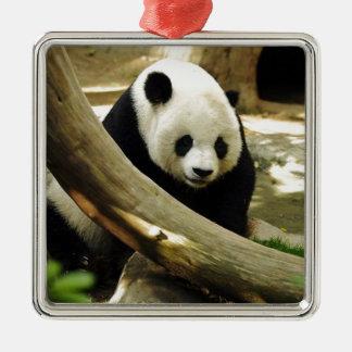 Giant Panda Gao Gao at the San Diego Zoo Metal Ornament