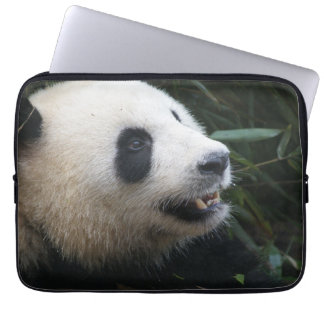 Giant Panda in Bamboo forest Laptop Sleeve