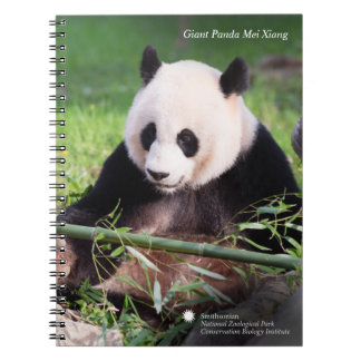 Giant Panda Mei Xiang Note Books