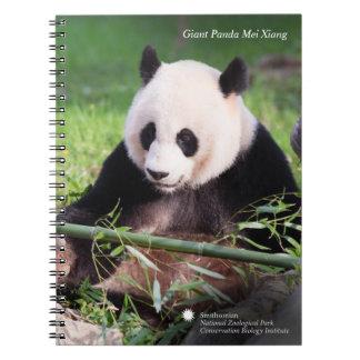 Giant Panda Mei Xiang Notebooks