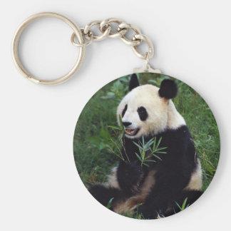 Giant panda, Sichuan Province, China Keychain