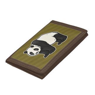 Giant Panda Tri-fold Wallet