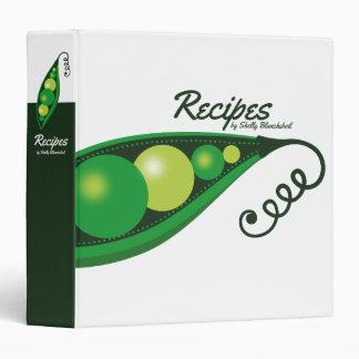 giant peas vegan cooking recipe binder cookbook