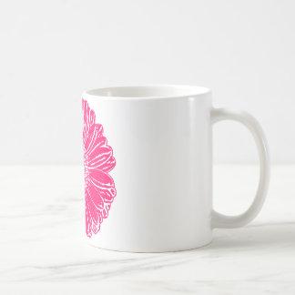 Giant Pink Gerbera Daisy Mug