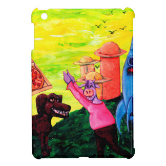 Giant, Pizza, Dog and Cow iPad Mini Cases