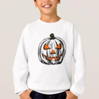 Giant Pumpkin – White Sweatshirt