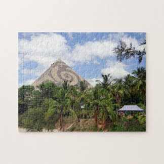 Giant Pyramid Pyramid Valley India Jigsaw Puzzle