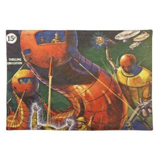 Giant Robot Caterpillars Placemat