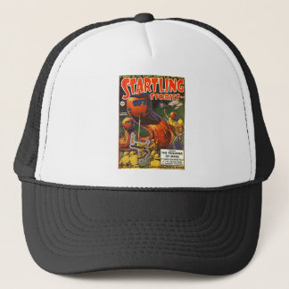 Giant Robot Caterpillars Trucker Hat