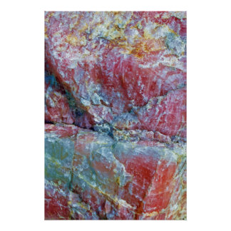 giant rose quartz poster