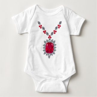 Giant Ruby Baby Bodysuit